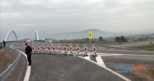 Nová diaľničná križovatka pri obci Lehota vokrese Nitra