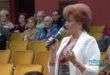 Kandidáti Jednotnej koalície na predvolebnom mítingu v meste Vráble