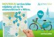 Bike vNitre prináša ďalšie rozšírenie počtu stanovíšť